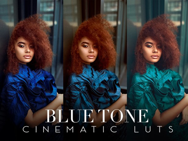 Blue Tone Cinematic LUTs For Photoshop