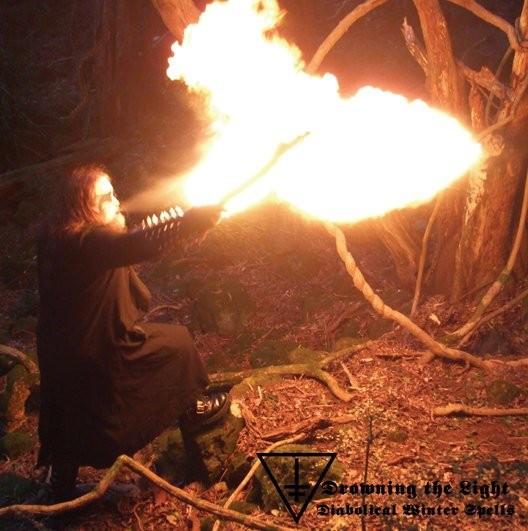 DROWNING THE LIGHT - Diabolical Winter Spells [MLP]