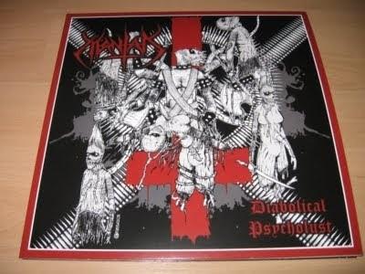 MANTAK - Diabolical Psycholust [LP]
