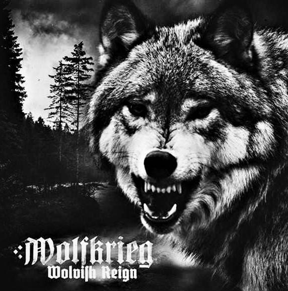 WOLFKRIEG - Wolvish Reign [LP]