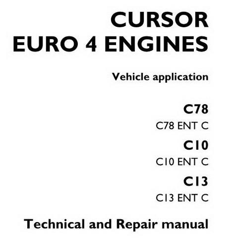 Iveco Cursor Euro 4 Engines Technical & Service Repair Manual