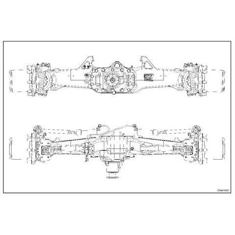 CARRARO FRONT AXLE CA641657-58-59-60-61 FOR DEUTZ-FAHR AGROTRON 150-150.7-165.7 Repair Manual