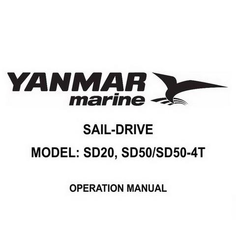 Yanmar Marine SD20, SD50/SD50-4T Sail-Drive Operation