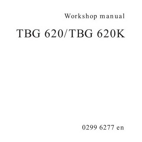 Deutz TBG 620/TBG 620K Engine Workshop Service Repair Manual