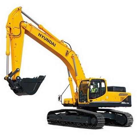 Hyundai Robex 380LC-9SH / R380LC-9SH Crawler Excavator Repair Service Manual
