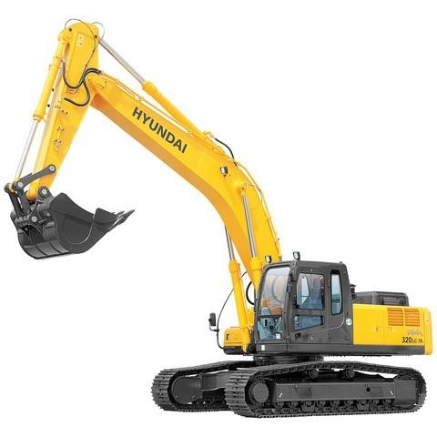 Hyundai Robex 320LC-7A / R320LC-7A Crawler Excavator Repair Service Manual