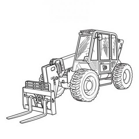 JCB 506C, 506CHL, 508C Loadalls Repair Service Manual
