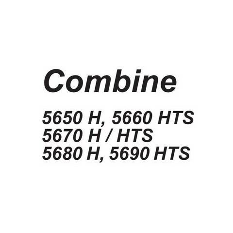 DEUTZ-FAHR 5650 H, 5660 HTS, 5670 H / HTS, 5680 H, 5690 HTS Combine Service Repair Workshop Manual
