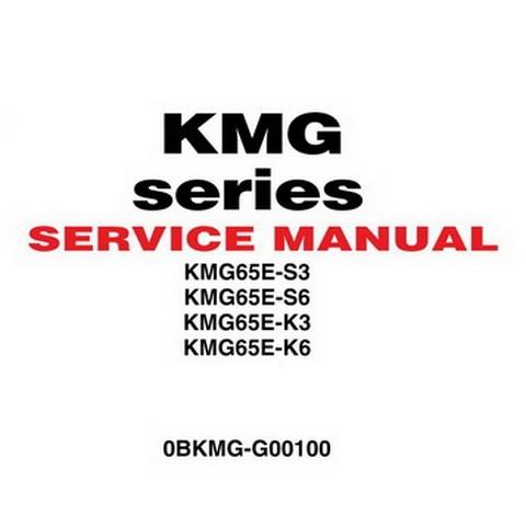 Yanmar KMG Series Marine Generator System Repair Service Manual