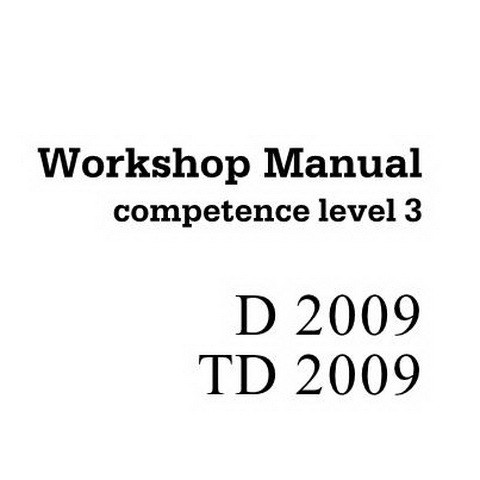 Deutz D 2009 / TD 2009 Engine Workshop Service Repair Manual