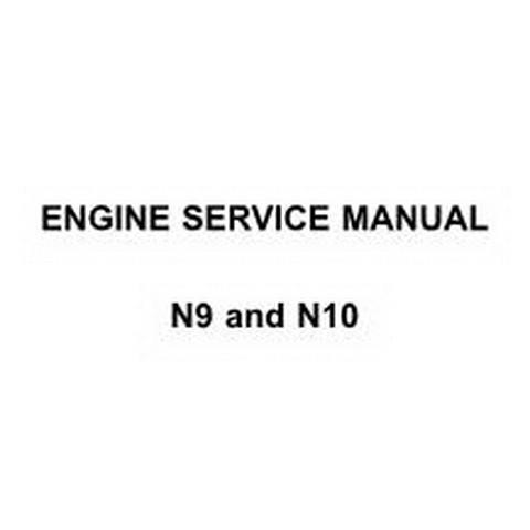 Navistar N9 and N10 Engine Workshop Repair Service Manual