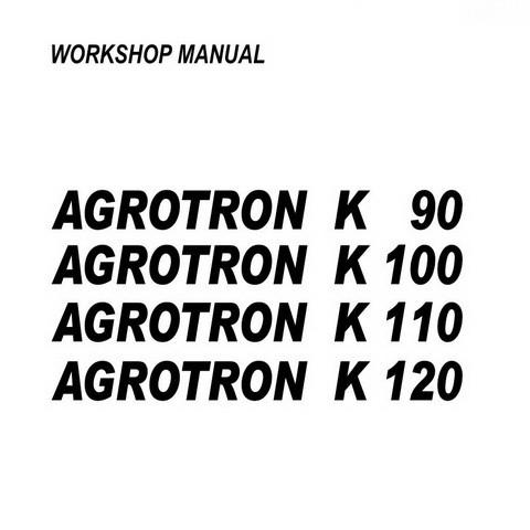 DEUTZ-FAHR AGROTRON K 90-100-110-120 Tractor Service Repair Workshop Manual