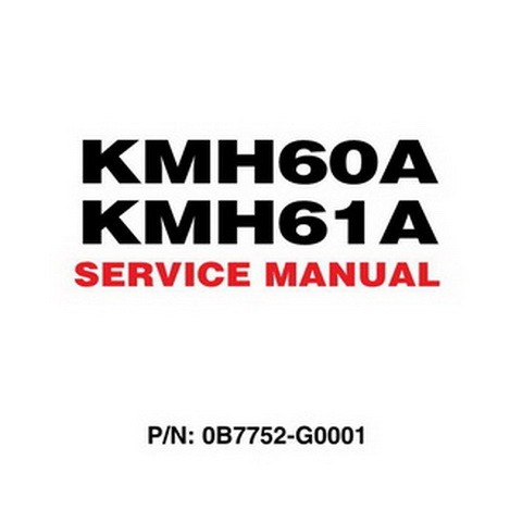 Yanmar KMH60A, KMH61A Marine Gear Repair Service Manual