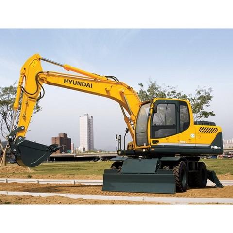 Hyundai Robex 140W-9 / R140W-9 Wheel Excavator Repair Service Manual