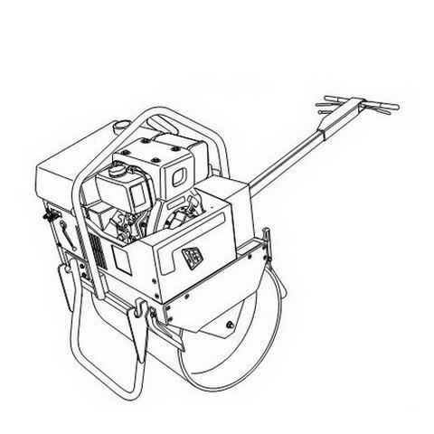 JCB Vibromax VMS 71 Mini Road Roller Repair Service Manual