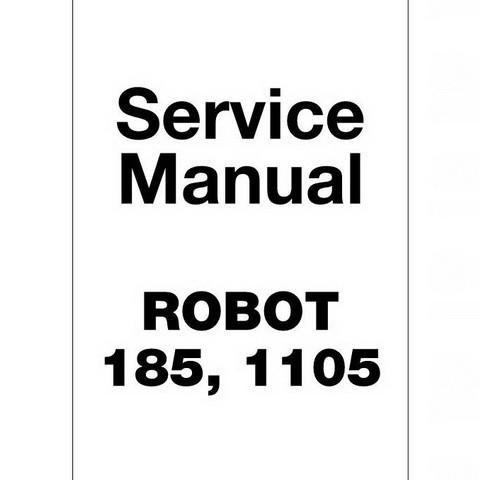 JCB Robot 185, 1105 Skid Steer Loader Repair Service Manual