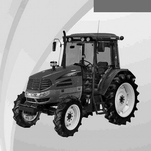 Yanmar EG907 Diesel Tractor Operation Manual