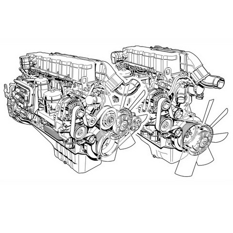 Deutz TCD 2012 & TCD 2013 L04/06 4V Engine Operation Instruction Manual