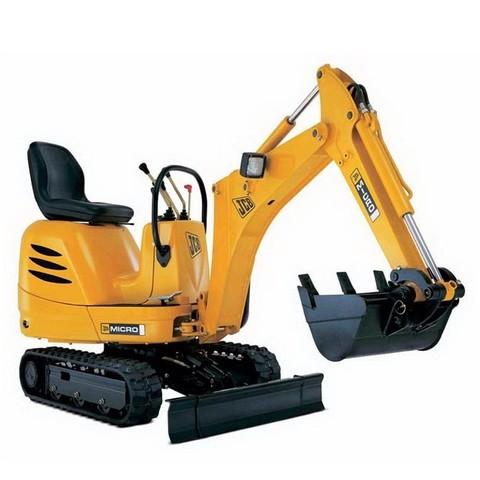 JCB Micro, Micro Plus, 8008, 8010 Micro Excavator Repair Service Manual