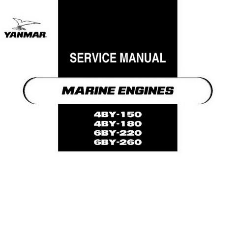 Yanmar BY Series (4BY & 6BY)  Marine Engine Repair Service Manual