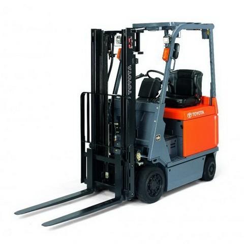 Toyota 7FBCU 15-55 Forklift Trucks Service Repair Manual