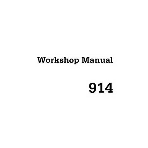DEUTZ 914 Engine Service Repair Workshop Manual