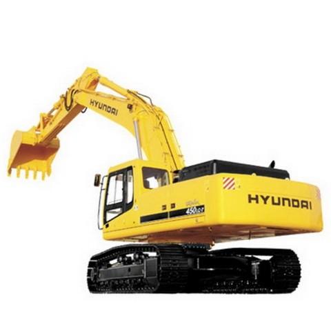 Hyundai Robex 450LC-3 / R450LC-3 Crawler Excavator Repair Service Manual