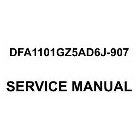 Dongfeng DFA1101GZ5AD6J-907 Light Commercial Truck Workshop Repair Service Manual