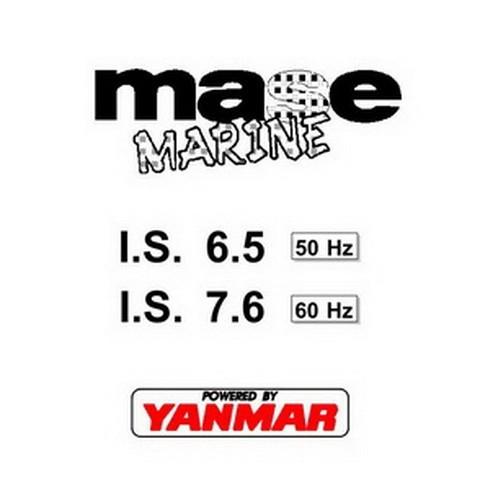 Yanmar Mase Marine I.S. 6.5 - I.S. 7.6 Generators Workshop Repair Service Manual