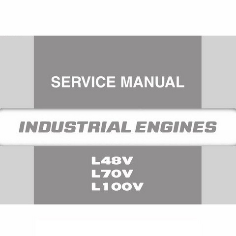 Yanmar LV Series Industrial Diesel Engine Repair Service Manual