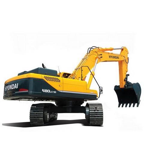 Hyundai R480LC-9S, R520LC-9S Crawler Excavator Repair Service Manual