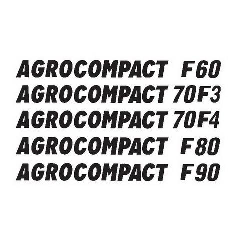 DEUTZ-FAHR AGROCOMPACT F60-70F3-70F4-F80-F90 Tractor Service Repair Workshop Manual