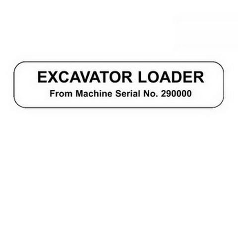 JCB 3CX, 4CX Excavator Loader Repair Service Manual