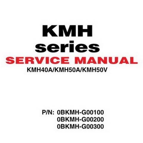 Yanmar KMH Series Marine Gear Repair Service Manual