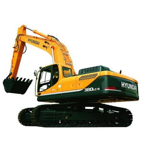 Hyundai Robex 380LC-9 / R380LC-9 Crawler Excavator Repair Service Manual