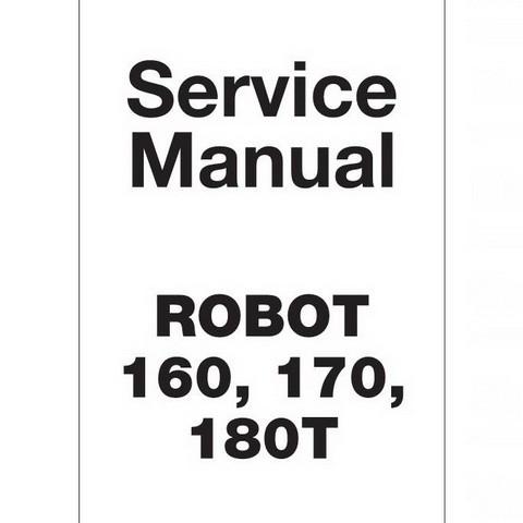 JCB Robot 160, 170, 180T Skid Steer Loader Repair Service Manual