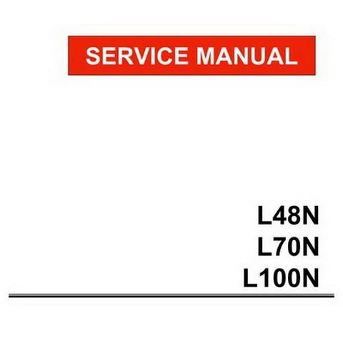Yanmar L48N, L70N & L100N Industrial Diesel Engine Repair Service Manual
