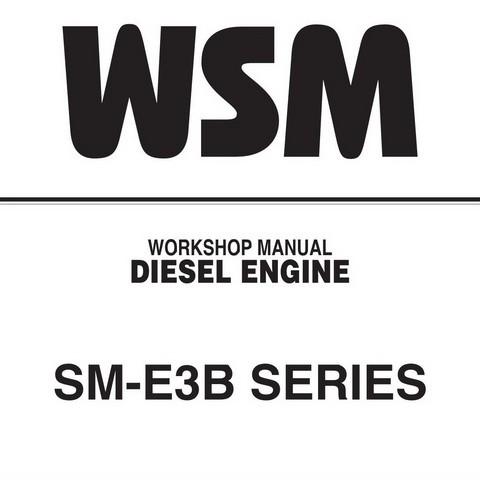 Kubota SM-E3B Series Diesel Engine Service Repair Work