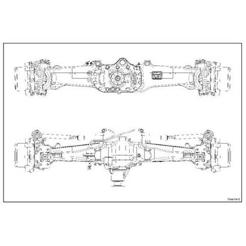 CARRARO FRONT AXLE CA641372-73-74-75 FOR DEUTZ-FAHR AGROTRON 120-130 Repair Manual