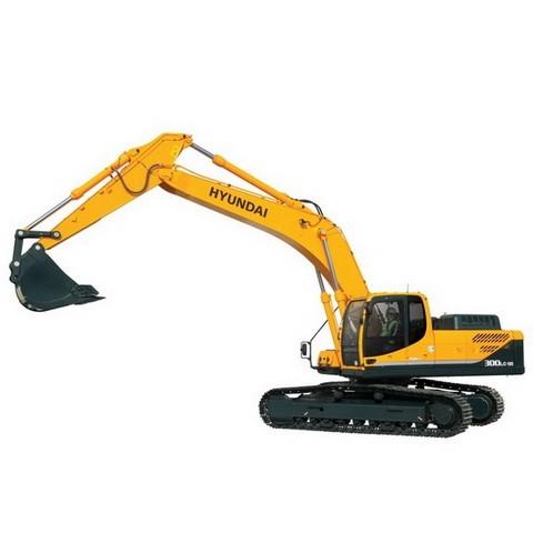 Hyundai Robex 300LC-9SH / R300LC-9SH Crawler Excavator Repair Service Manual