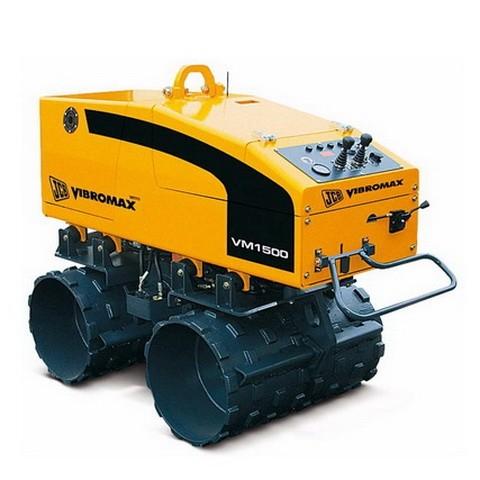 JCB Vibromax VM 1500 M/F Trench Roller Repair Service Manual