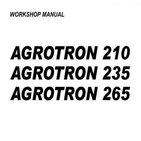 DEUTZ-FAHR AGROTRON 210-235-265 Tractor Service Repair Workshop Manual