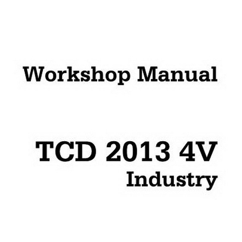 Deutz TCD 2013 4V Industry Engine Workshop Service Repair Manual