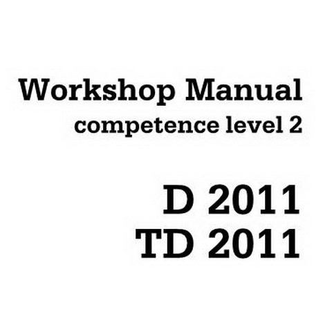 Deutz D 2011, TD 2011 Engine Workshop Service Repair Manual - Competence Level 2