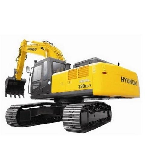 Hyundai Robex 320LC-7 / R320LC-7 Crawler Excavator Repair Service Manual