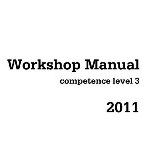 Deutz 2011 Competence Level 3 Engine Workshop Service Repair Manual