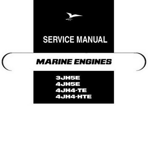 Yanmar JH Series Marine Diesel Engine Repair Service Manual