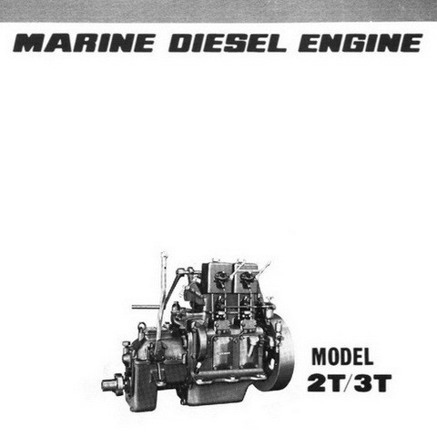 Yanmar 2t 3t Marine Diesel Engine Repair Service Manua Digital Files Mart