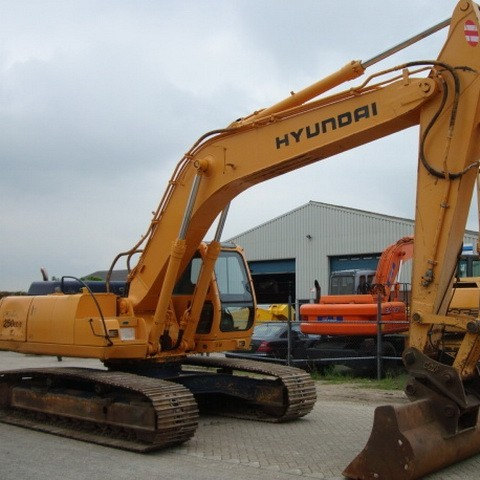 Hyundai Robex 250LC-3 / R250LC-3 Crawler Excavator Repair Service Manual