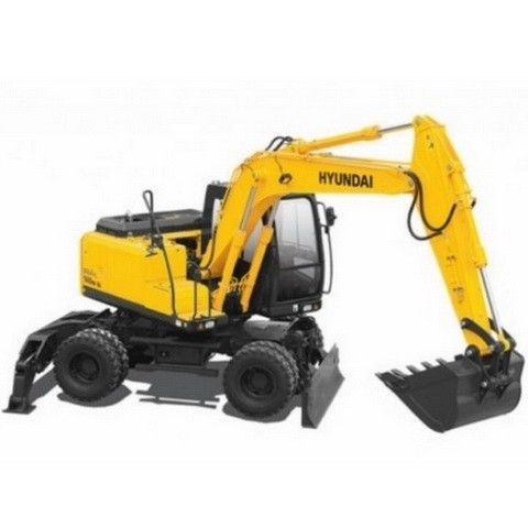 Hyundai Robex 140W-7 / R140W-7 Wheel Excavator Repair Service Manual